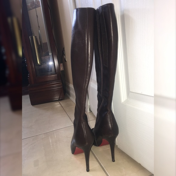 pretty nice 3d150 2d4ed Botalili boot Christian Louboutin (brown)