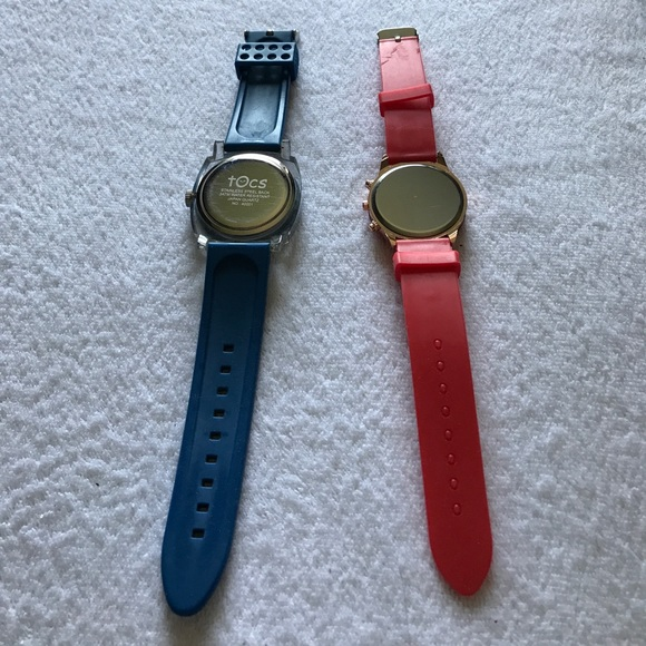 Tocs Accessories - 2 fashion watches.