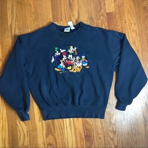 Disney Sweaters - Vintage Mickey Mouse and Friends Disney Sweater