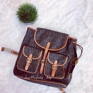 Michael Kors Handbags - Michael Kors Jet Set Backpack