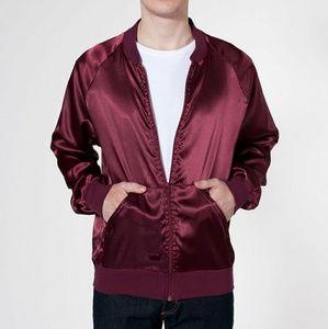 AA satin charmeuse roller jacket
