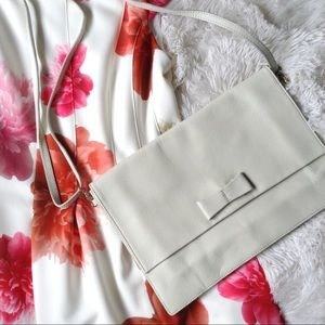 BANANA REPUBLIC off white NWOT crossbody bag