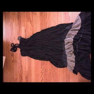 Ryu Dresses & Skirts - NEW! Ryu halter dress with ruffled hi/low bottom
