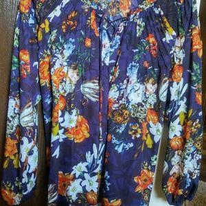 Tops - Large floral shirt