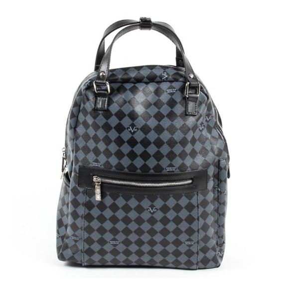 6611be81bebf Versace 19.69 V1969016 Checkered Backpack