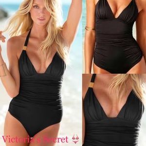 VS Nwt The flawless one piece in black