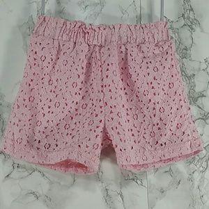 Other - Pink Eyelet Shorts. Kids