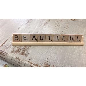 Other - Scrabble plaque