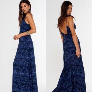 Novella Royale Dresses & Skirts - novella royale summerland dress indigo chantilly