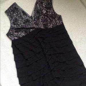 Dress Barn Dresses & Skirts - DRESS BARN Formal Black Dress Plus Size 22