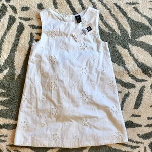 GAP Other - NWT baby Gap White two piece shift dress