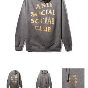 """Anti Social Social Club Tops - Anti social social club """"metal gear"""" hoodie"""