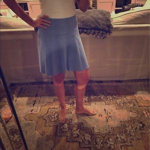 Tory Burch sz S blue swingy skirt