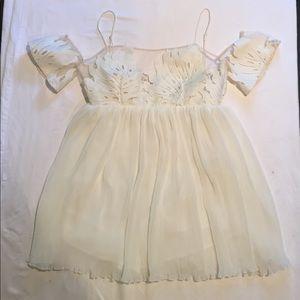 Alice McCall Dresses & Skirts - Alice McCall white romper- dress!