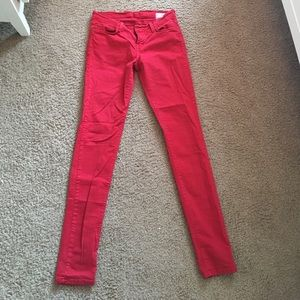 Angry Rabbit Denim - Red Angry Rabbit skinny jeans