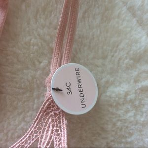 a26451729e Forever 21 Intimates   Sleepwear - NWT F21 Rose Colored Lace Bralette