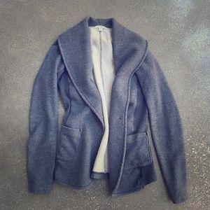 James Perse Jackets & Blazers - James Perse sweatshirt blazer