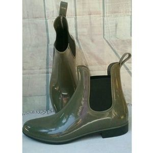 Life Stride Other - Life Stride army Olive green rubber boots