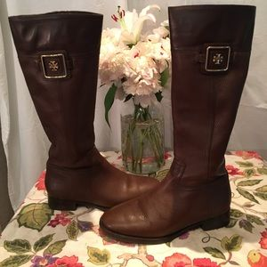 Tory Burch Shoes - Tory birch riding boots (worn just once!)