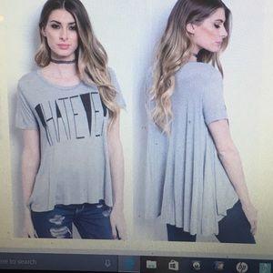 Tops - 🤗CLEARANCE🤗Gray Short Sleeve Tee/NWT