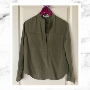 All Saints Tops - All Saints Silk Shirt