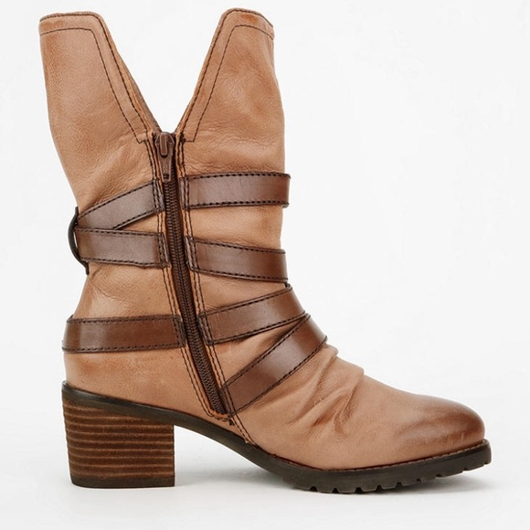otbt outfitters brown otbt berkshire ankle boot