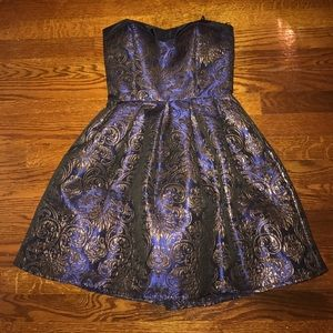 Dresses & Skirts - Blue and Gold Dress