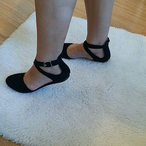 Soda Shoes - SODA BLACK FLAT SHOES SIZE 8.5 WORN ONCE
