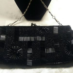 La Regale Handbags - La Regale Beaded Purse
