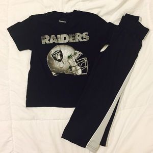 Reebok Other - NFL OAKLAND RAIDERS Shirt Size 5/6