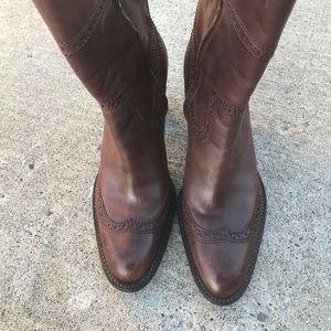 Eddie Bauer Shoes - EUC Eddie Bauer western style leather boots 7.5