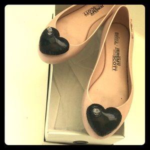 Melissa Shoes - Jeremy Scott X Melissa inflatable heart flats