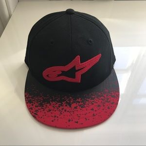 Astars Accessories - Red and Black AStars Baseball Cap