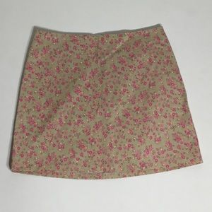 Necessary Objects Dresses & Skirts - Vintage Necessary Objects Floral Skirt - S