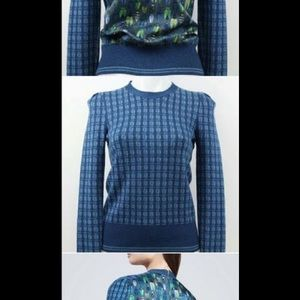 Tory Burch Tops - Blue and green Tory Burch sweater