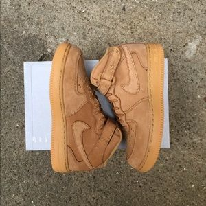 Nike Other - Nike Wheat Air Force 1 MID