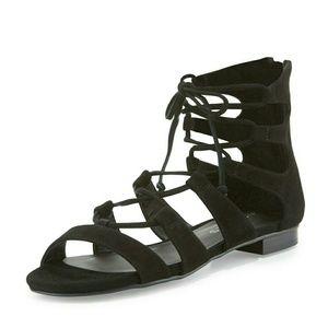 J/Slides Shoes - J slides suede tied up sandals