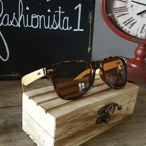 Wooden Bamboo Style Sunglasses
