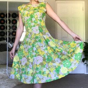 70's Vintage Handmade Dress