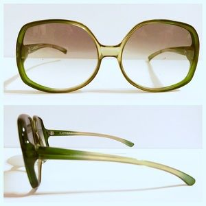 CARRERA Oversized Sunglasses, Vintage, Olive