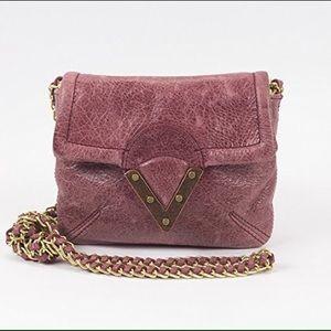 Pour la Victoire Handbags - Pour La Victoire Distressed Leather Mini Crossbody
