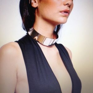 Solid Gold Collar Choker