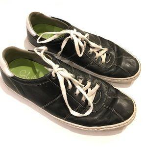 Cole Haan men's navy leather Sneaker