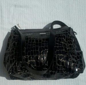 Miche Handbags - MICHE BRAND LARGE BLACK ALLIGATOR SHELL