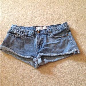 paperdenim&cloth Pants - Shortie denim shorts