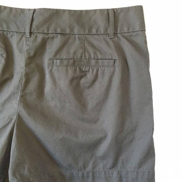 70 Off Loft Pants Loft Riviera Grey Shorts Size 14