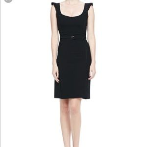 L'AGENCE Dresses & Skirts - NWT L'Agence Ruffle-Sleeve Belted Dress