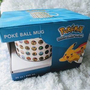 Pokemon Accessories - Pokemon Poke' Ball Mug