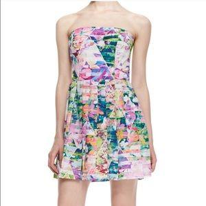 Amanda Uprichard Dresses & Skirts - Amanda Uprichard Geometric Garden Multi Strapless