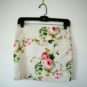 Forever21 Floral Skirt - New with tags!